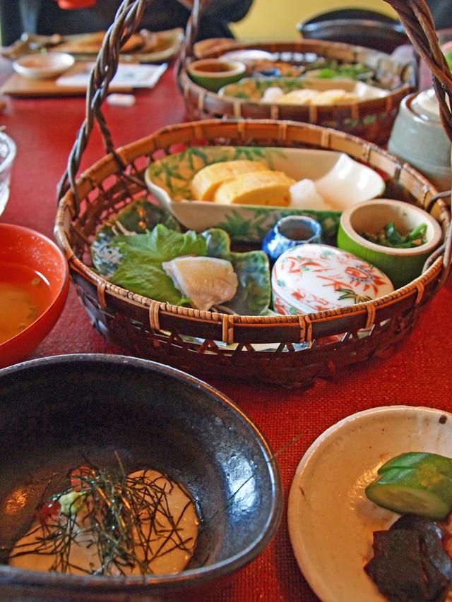 福井望洋楼の料理(朝ご飯)