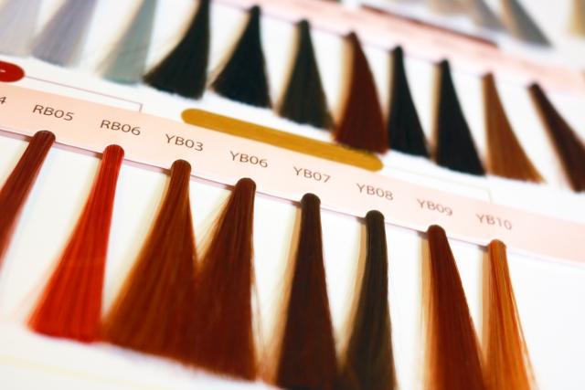 白髪染めカラー材の種類