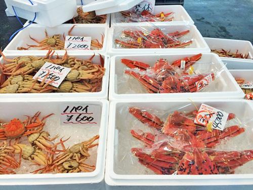 蟹の安い店、まるさん