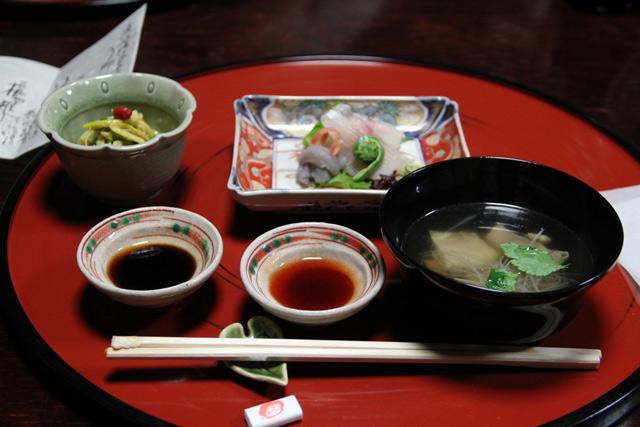 和田屋のお料理