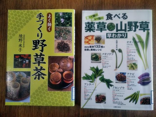 野草茶の本
