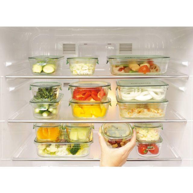イワキの耐熱ガラス保存容器2